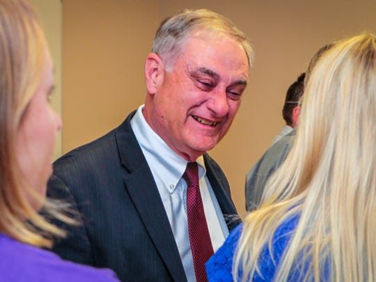 Rutherford County Director of Schools Don Odom will retire at the end of June with 50 years of service to the district. A reception was held in Odom's honor Tuesday, June 19.