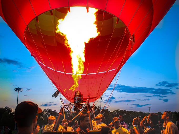 The Hot Air Balloon Classic was held at Richard Siegel