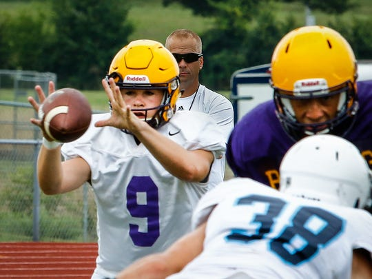 Smyrna senior Alex Bannister is one of the returning starters at quarterback in the area.
