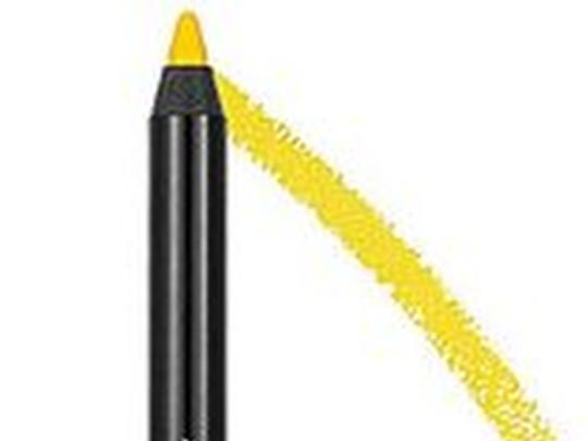 Yellow eyeliner will not make you look like the Tasmanian