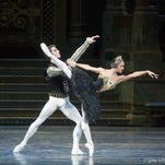 "Misty Copeland and James Whiteside appear in ""Swan Lake"" at the Metropolitan Opera House."