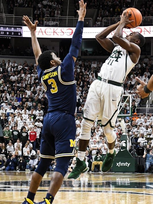 MSU vs. UM - Mens Basketball