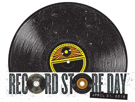 A logo for Record Store Day 2018.