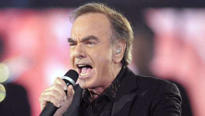 Neil Diamond will perform on April 17 at Bankers Life Fieldhouse.