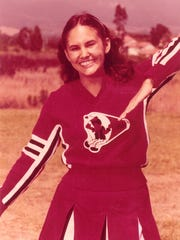 Dr. Shawn Allen when she was a Palm Springs High cheerleader