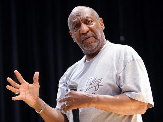Bill Cosby speaking AP photo