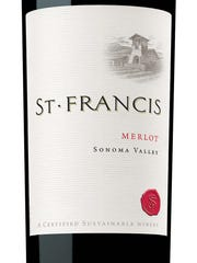 St. Francis merlot is one good option for a middle-of-the-road red wine.