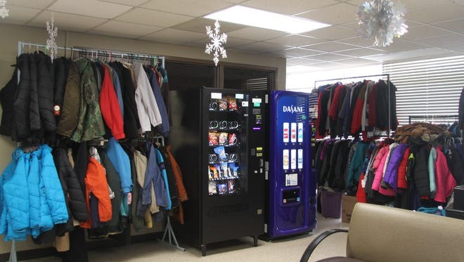 The department received more coats for this drive this year than previous years.