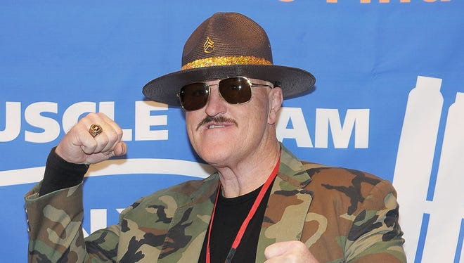 NEW YORK , NY - JANUARY 04: Former Professional Wrestler Sgt. Slaughter attends the Muscular Dystrophy Association's 2011 Muscle Team Gala and Benefit Auction at Pier 60, Chelsea Piers on January 4, 2011 in New York City. (Photo by Michael Loccisano/Getty Images) *** Local Caption *** Sgt. Slaughter