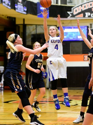 Clyde's Heidi Marshall earned third-team all-Ohio status in Division II.