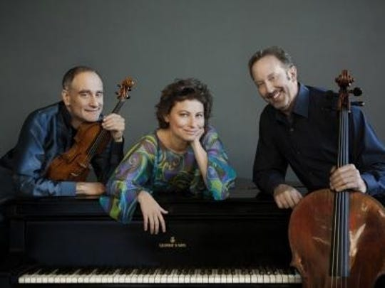 The Weiss Kaplan Stumpf Trio performs March 13 at the Church of the Messiah in Rhinebeck. Presented by the Rhinebeck Chamber Music Society.
