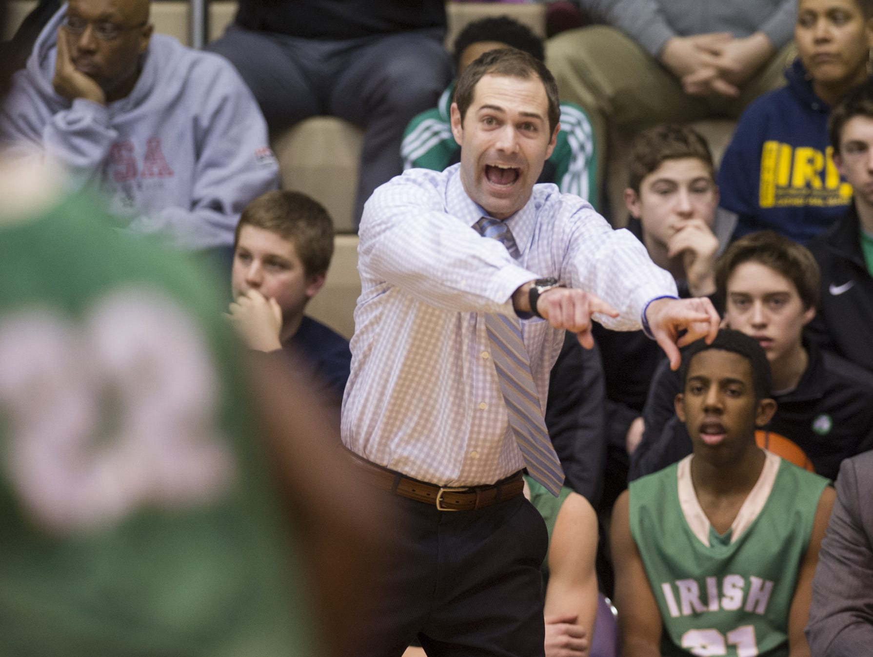 Andy Fagan, who coached Cathedral since 2011, has resigned.