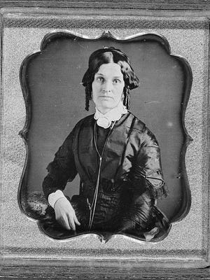 This unidentified woman, like many unmarried American woman of the 19th century, was unfairly relegated to the stigma of spinster and old maid at a time when educational opportunities were scant and women did not have the right to vote. The feisty Richmond woman in today's story unconventionally took matters into her own hands.