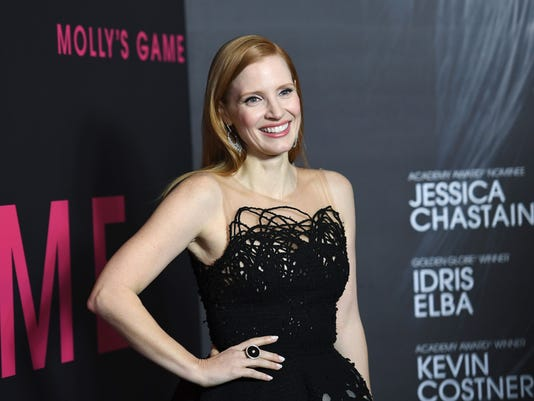 US-ENTERTAINMENT-PREMIERE-MOLLY'S-GAME