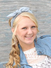 Arielle Graper, the daughter of Donnie and Lisa Graper of Evansville, plans to study nursing at the University of Southern Indiana.