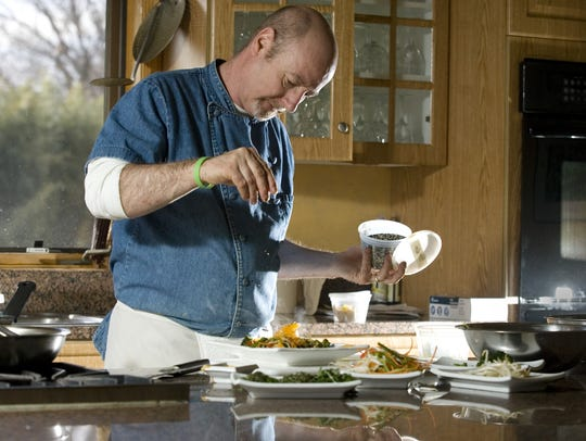Chris Mumford of Mumford's Culinary Center in Tinton