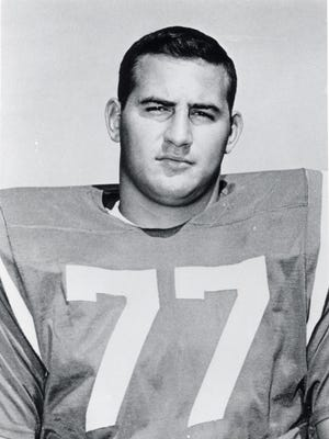 Tom Neville Jr. played 12 seasons with the New England Patriots in the 1960 and 1970s.