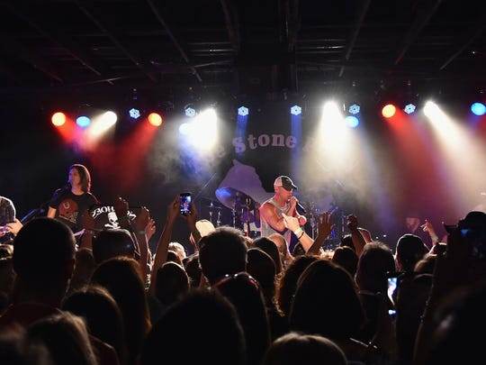"Kenny Chesney performs a concert to celebrate the launch of his ""No Shoes Raido"" on SiriusXM at The Stone Pony on May 12, 2016 in Asbury Park, New Jersey."