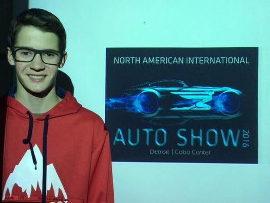 nnto auto show Mitchell Russel Designers Best of Show