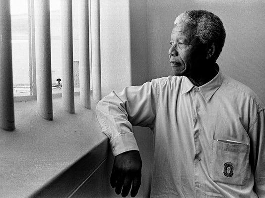 Mandela in Apartheid Exhibit
