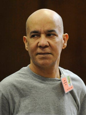 In this Nov. 15, 2012, file photo, Pedro Hernandez appears in Manhattan criminal court in New York.  A retrial will begin after Labor Day for Hernandez, who is accused of killing Etan Patz in 1979.