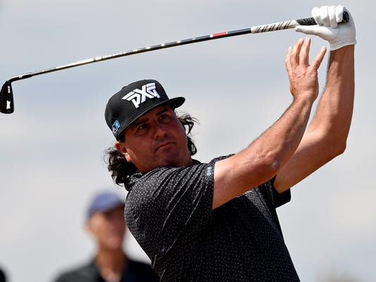 Pat Perez at the British Open