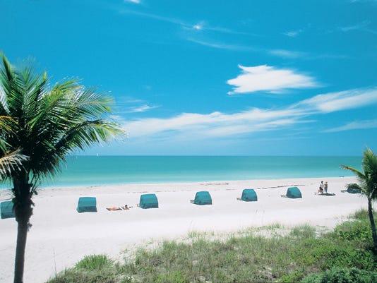 Tween Waters beach umbrellas