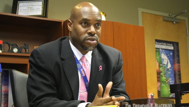 Brevard Public Schools Superintendent Desmond Blackburn sits down with Florida Today on Monday to discuss his takeaways from last school year and his priorities for the upcoming year.