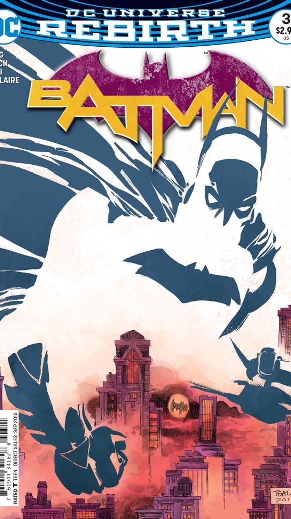 """Cover of Batman """"I Am Gotham"""" Part 3."""