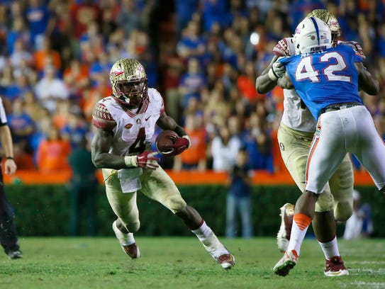 Against Florida's vaunted defense, Cook rushed for