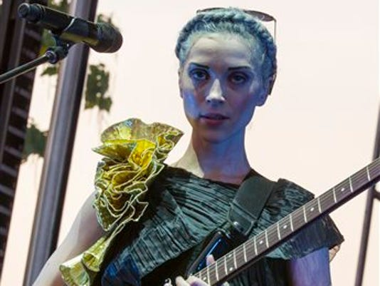 St.Vincent tour
