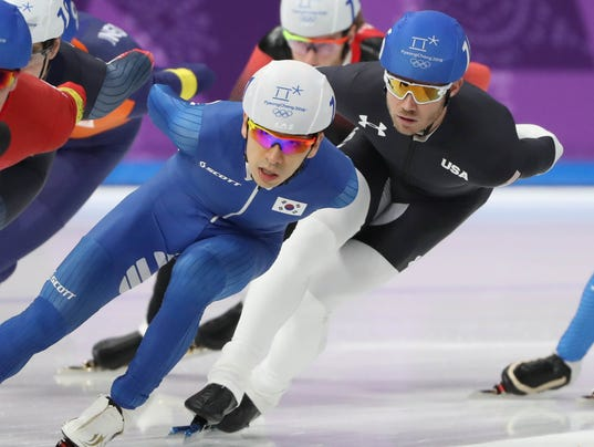 Olympics: Speed Skating