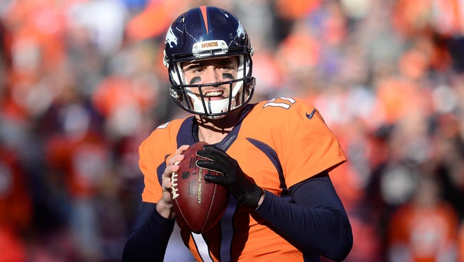 Broncos QB Brock Osweiler went 5-2 in his first seven NFL starts in 2015.