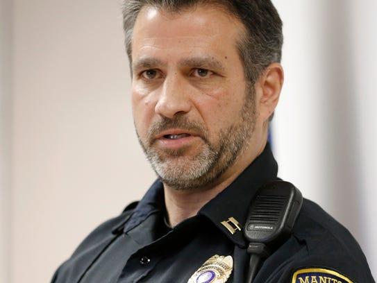 Manitowoc Police Department Capt. Larry Zimney.