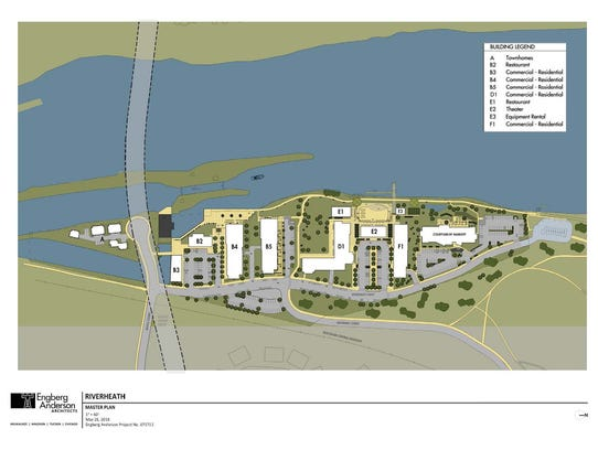 RiverHealth's master plan shows the coming Courtyard