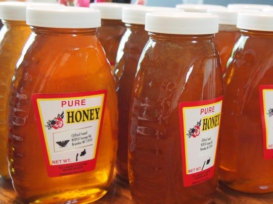 Sweet Acres Honey.
