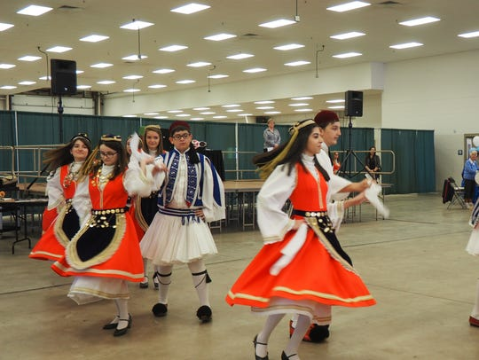 The Dorian Greek Dance Troupe from St. Constantine