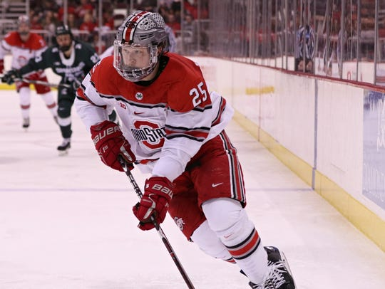 Northville native Brendon Kearney has helped lift Ohio