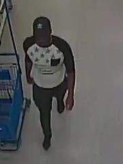 This man is suspected of taking photographs of women