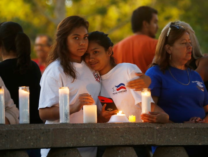 A candlelight vigil was held in early September in