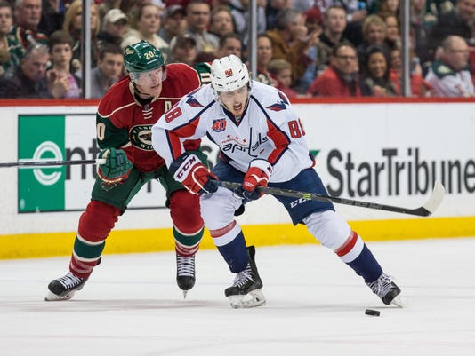 NHL: Washington Capitals at Minnesota Wild