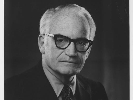 Barry Goldwater is a University of Arizona alum and a five-term U.S. senator who ran for president in 1964. He is one of the state's best-known political figures and credited for re-starting the American conservative movement.