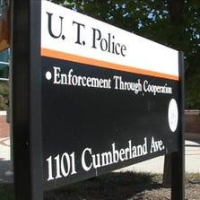 UT Police sign