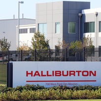 The Halliburton location on Pont des Mouton Road in Lafayette. The Halliburton and Baker Hughes merger has been scotched by the Justice Department.