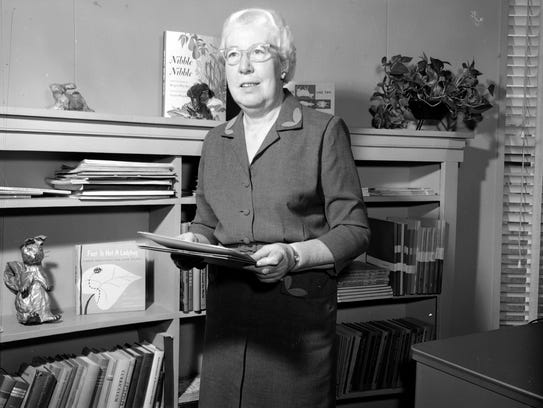 Alice Pittman at the time of her retirement from the