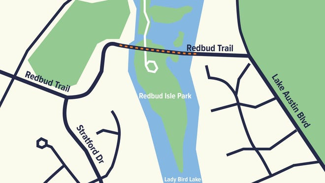 Residents should expect lane closures along the Redbud Trail bridge for routine maintenance and repairs starting July 20.