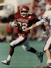 IU's all-time leading rusher Anthony Thompson.