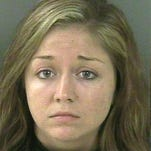 Kaitlyn Hunt, 19, in a booking mug released Aug. 19, 2013, by the Indian River County Sheriff's Office.