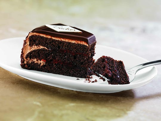 La Madeline's sacher torte is one of many decadent dessert options.