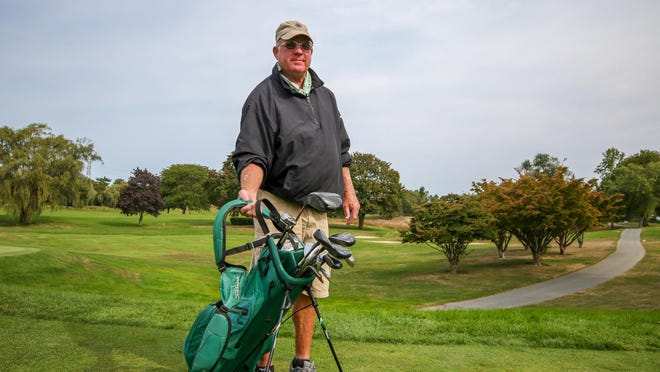 Dave Bart, the last caddie to work at the now-closed Metacomet Golf Club, has found a way to stay in the game.